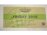 GOODWOOD REVIVAL FRIDAY TICKET