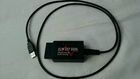 Elm 327 ford diagnostic cable