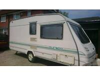 Sterling Europa 2 berth good condition caravan