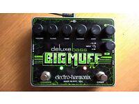EHX / Electro Harmonix Deluxe Bass Big Muff Pi - Fuzz Pedal