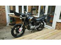 Yamaha YBR125 125cc motorcycle
