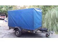car trailer tarpaulin 750kg single axle light weight