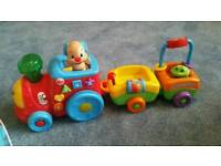 Fisher price laugh and learn puppy train