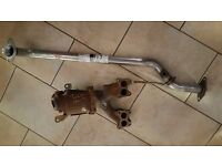 Nissan Almera 2005 1.5 catalytic convertor with manifold & new exhaust piece