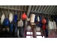 Selection of Boat Fenders