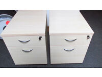office cabinets x2
