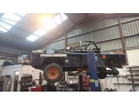 Wanted Land Rover Defender 110 roof cash waiting