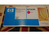 Genuine HP Color LaserJet Q7563A Magenta Print Cartridge