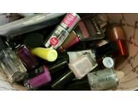 Joblot nail Polish & eyeshadow