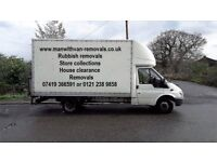 Cheap Man With Van Service & Last Minute Booking Luton Van With Tail Lift