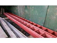 21 ft Steel Ladder beams