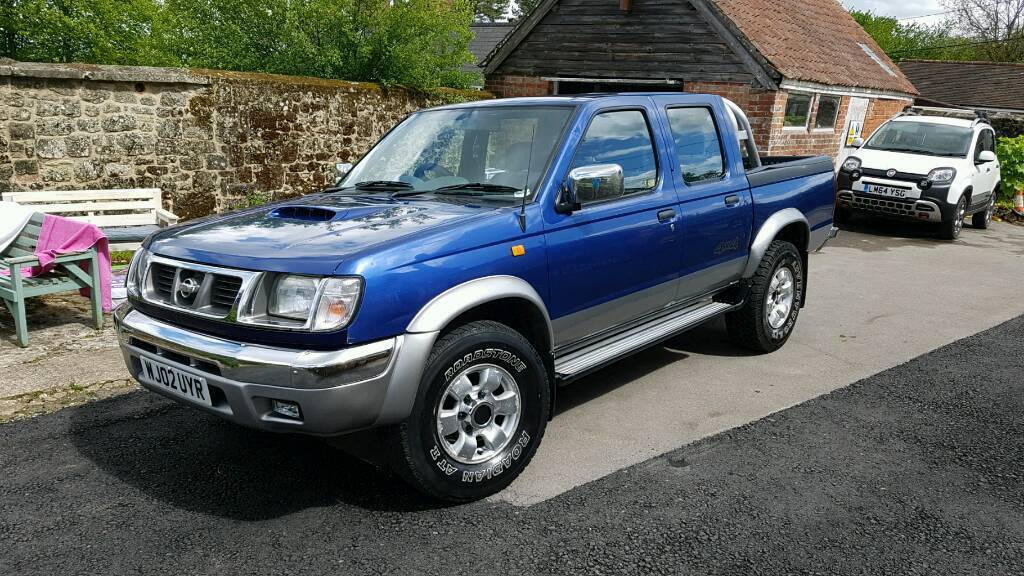 nissan navara d22 2002 pickup in shaftesbury dorset. Black Bedroom Furniture Sets. Home Design Ideas
