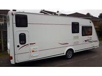 Compass Connoisseur 6 Berth touring Caravan.