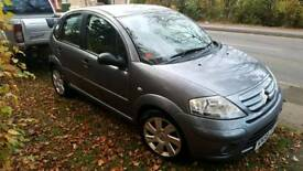 58 reg citreon c3 1.6hdi exclusive 12months mot immaculate car