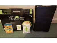 Nintendo Wii Fit Plus Black Balance Board (boxed) for Wii and Wii U