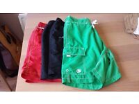 3 Pair's of men's swim short's