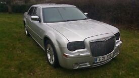 2006 CHRYSLER 300C 3.0CRD V6 AUTOMATIC DIESEL SILVER
