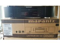 Marantz CD5003 CD Player - Excellent Condition with Remote Control,Manual & Cables
