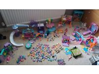 Fashion Polly Pocket Huge Bundle!! Lots of playsets and dolls, perfect xmas present!