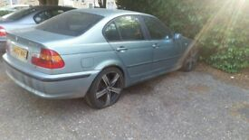 SELLING BMW 320D 150HP START DRIVES NEED CHANGE COUPLE PARTS READ DESCRIPTION!!!