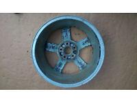 saab 93 17inch alloy wheel 5 spoke