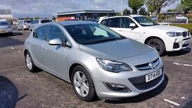 2014 plate Vauxhall Astra 1.7 SRi CDTi - *priced to sell - £7,100**
