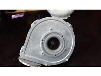 Isar central heating boiler fan