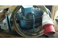 Electric motor clarkes 5.5hp 3phase