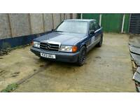 1992 MERCEDES 190E 1.8L AUTOMATIC BARN FIND/PROJECT