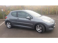 2009(59)PEUGEOT 207 1.6 SPORT MET GREY,CLEAN CAR,GREAT VALUE