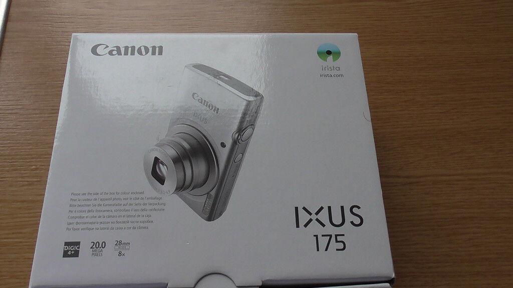 cannon ixus silver compact camera