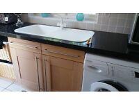 Light oak kitchen units for sale