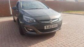 2012/13 Vauxhall Astra 1.6 SRI 52k miles Drives like new. Spotless