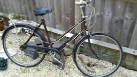 Vintage Hercules Balmoral 3 speed bike