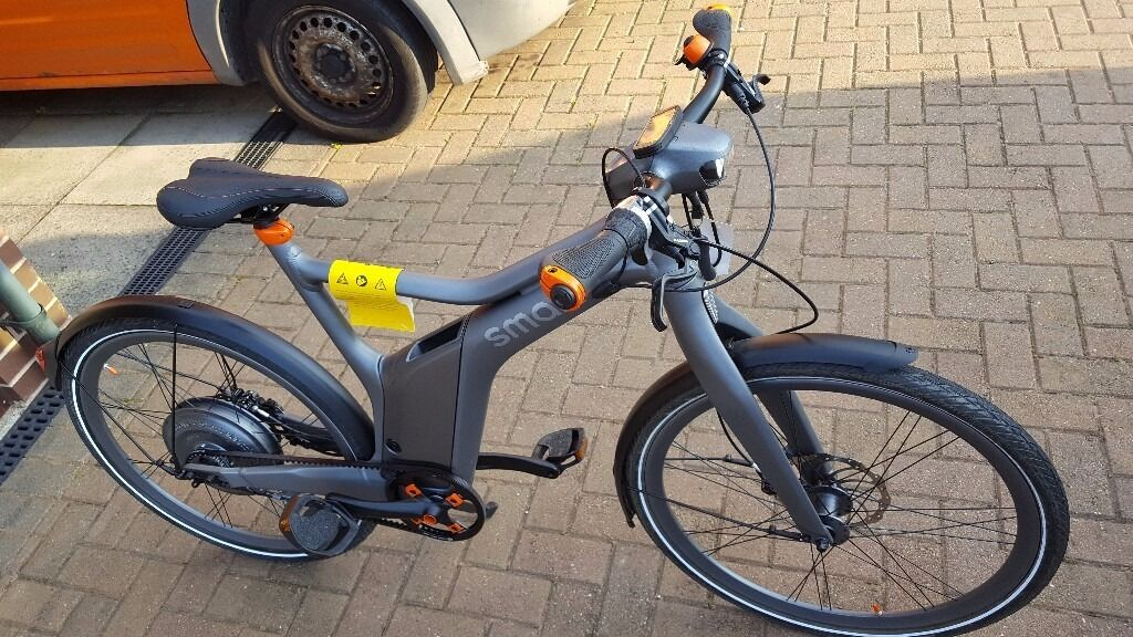 smart e bike electric bike mercedes as new in glenfield. Black Bedroom Furniture Sets. Home Design Ideas