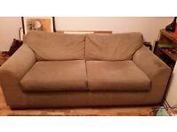 Next sofa 3 seater x 2