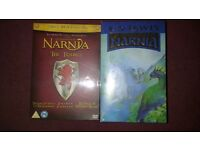 Narnia 3 movie DVD collection & CS Lewis The Chronicles of Narnia box set x7 (NEW)