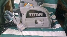 TITAN TTB673CSW 165mm Plunge Saw 1200. New