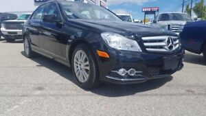 2012 Mercedes-Benz C250 4matic LEATHER/ROOF/LOAD