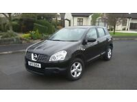 December 2009 Nissan Qashqai One Owner from new
