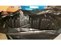 Two bit black bags full of number plate holders/frames. Great for carboot sales or garages.