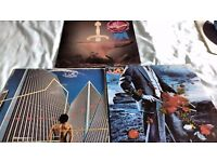 VINYL RECORDS L.P'S: YES/RICK WAKEMAN: PROG ROCK:3 ALBUMS FOR £8.00
