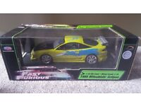 Fast and furious 1:18 Mitsubishi Eclipse Joyride Diecast model