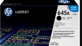 HP C9730A laserjet printer toner X2