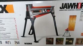Worx Jaw Horse, heavy duty work bench, model W060, stronger than a workmate