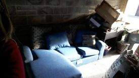 Sofa (Free to Collector, second hand, no legs)