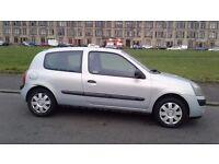RENAULT CLIO 2004 MODEL MOT 1 FULL YEAR 1.2CC £595