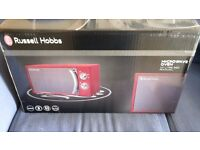 New Russell Hobbs Microwave RHM1706R-G BNIB