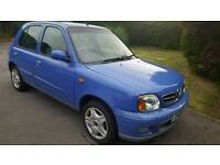 Nissan micra 1.4 long mot new tyres and brakes