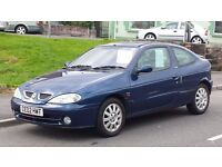 2002 megane coupe 1.6 £395 no offers
